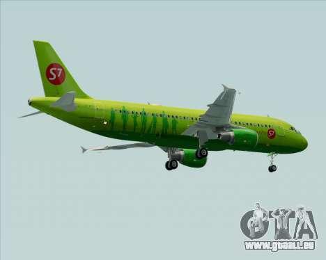 Airbus A320-214 S7-Siberia Airlines für GTA San Andreas Räder
