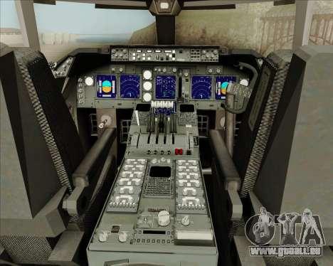Boeing 747-8 Cargo Cathay Pacific Cargo pour GTA San Andreas salon