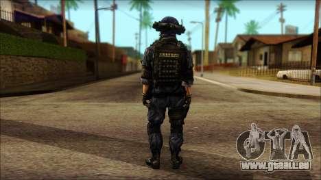 MG from PLA v3 für GTA San Andreas zweiten Screenshot