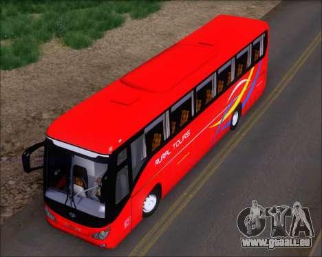 Yanson Viking 4th Generation Rural Tours 10010 pour GTA San Andreas vue arrière