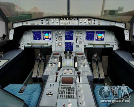 Airbus A330-300 China Eastern Airlines für GTA San Andreas Innen