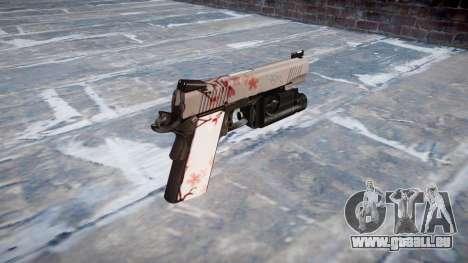Gun Kimber 1911 Cherry blossom für GTA 4 Sekunden Bildschirm