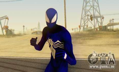 Skin The Amazing Spider Man 2 - Suit Symbiot pour GTA San Andreas cinquième écran