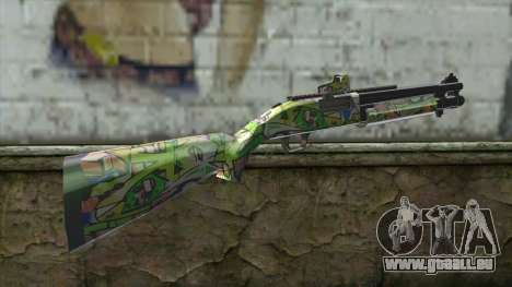 Graffiti Shotgun für GTA San Andreas zweiten Screenshot