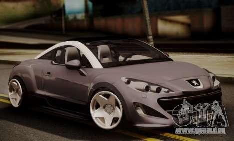 Peugeot RCZ pour GTA San Andreas