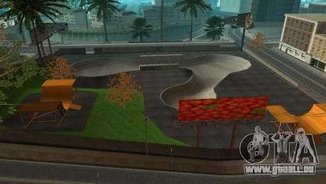 La Texture du skate Park et un hôpital de Los Sa pour GTA San Andreas troisième écran