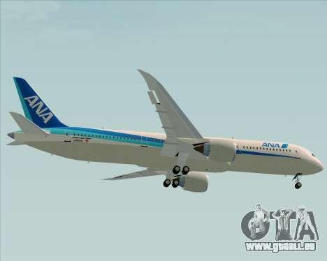 Boeing 787-9 All Nippon Airways pour GTA San Andreas vue de côté