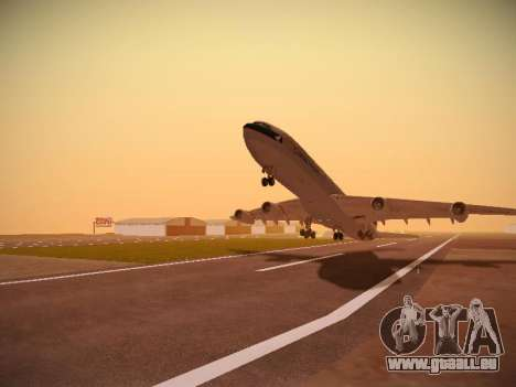 Airbus A340-300 Cathay Pacific pour GTA San Andreas