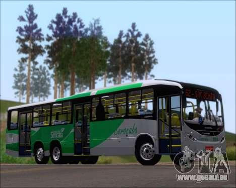 Comil Svelto BRT Scania K310IB 6x2 Sorocaba pour GTA San Andreas sur la vue arrière gauche