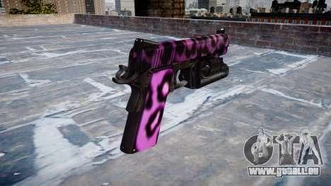 Pistolet Kimber 1911 Party Rock pour GTA 4 secondes d'écran