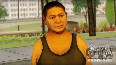 GTA 5 Ped 1 für GTA San Andreas dritten Screenshot