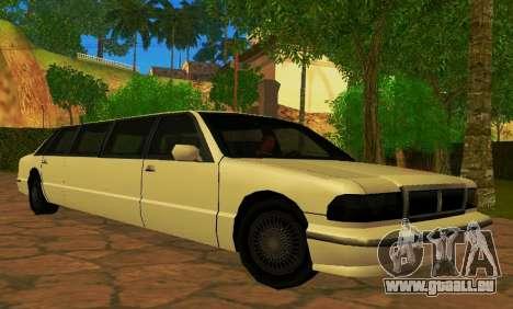 Premier Limousine für GTA San Andreas