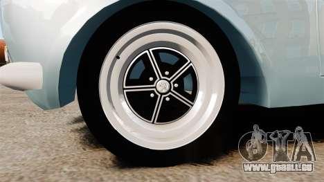 Peugeot 504 für GTA 4 Rückansicht