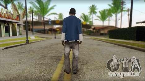 Franklin from GTA 5 für GTA San Andreas zweiten Screenshot