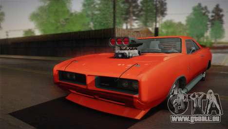 GTA 4 Dukes Tunable für GTA San Andreas Innenansicht