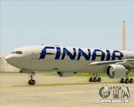 Airbus A330-300 Finnair (Current Livery) pour GTA San Andreas vue de dessous