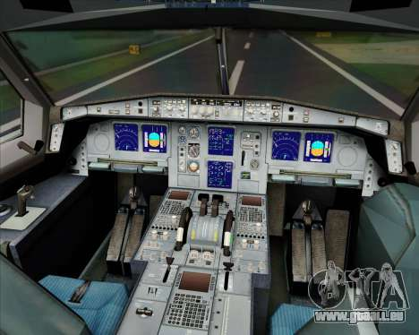 Airbus A330-323 Malaysia Airlines pour GTA San Andreas roue