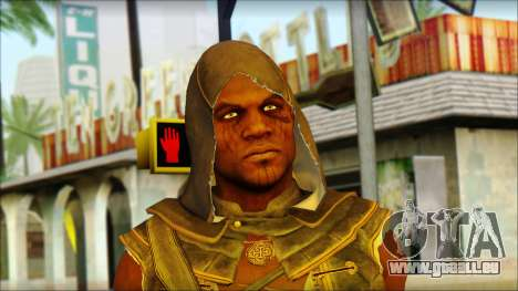 Adewale from Assassins Creed 4: Freedom Cry pour GTA San Andreas troisième écran