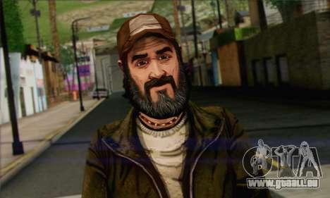Kenny from The Walking Dead v2 pour GTA San Andreas troisième écran