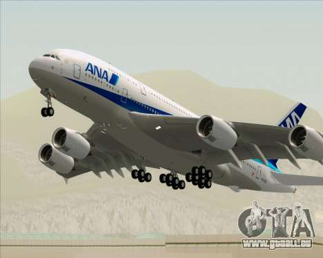 Airbus A380-800 All Nippon Airways (ANA) für GTA San Andreas