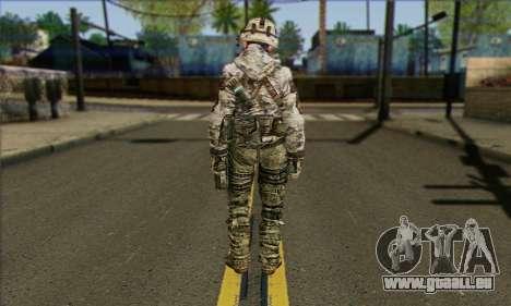Task Force 141 (CoD: MW 2) Skin 2 pour GTA San Andreas deuxième écran