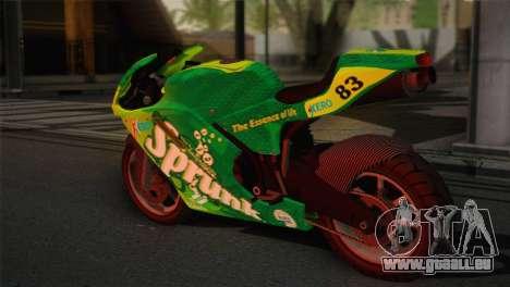 Bati RR 801 Sprunk pour GTA San Andreas laissé vue