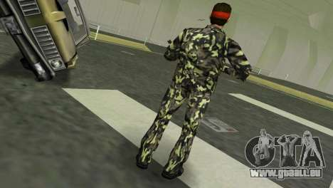 Camo Skin 03 GTA Vice City pour la troisième écran