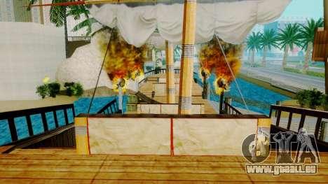 Neue Piratenschiff in Las Venturas für GTA San Andreas her Screenshot