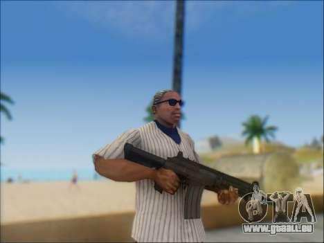 Israelische Karabiner ACE 21 für GTA San Andreas zehnten Screenshot