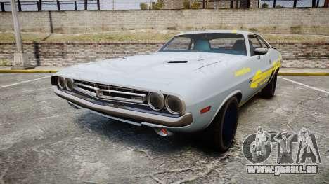 Dodge Challenger 1971 v2.2 PJ4 pour GTA 4