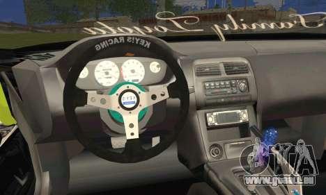Toyota Chaser Drift 2JZ-GTE für GTA San Andreas zurück linke Ansicht