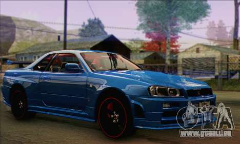 Nissan Skyline GTR34 für GTA San Andreas