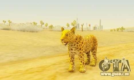 Leopard (Mammal) pour GTA San Andreas