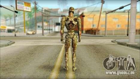 T900 (Terminator 3: la guerre des machines) pour GTA San Andreas deuxième écran