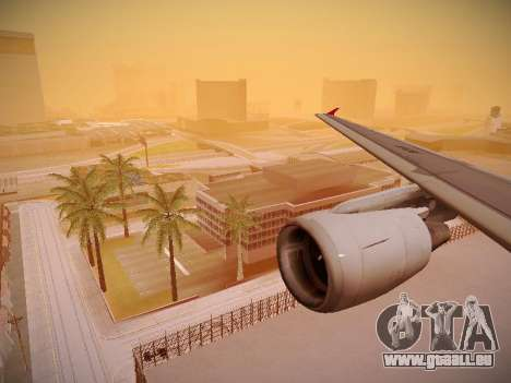 Airbus A320-214 TAM Airlines pour GTA San Andreas roue