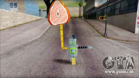 Hamsmp from Sponge Bob für GTA San Andreas dritten Screenshot
