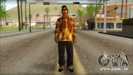 Eazy E Lumberjack Skin pour GTA San Andreas