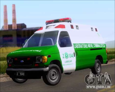 Ford E-150 Labocar für GTA San Andreas