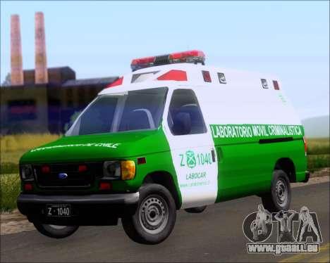 Ford E-150 Labocar für GTA San Andreas
