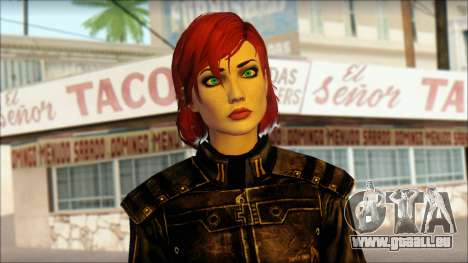 Mass Effect Anna Skin v5 pour GTA San Andreas troisième écran