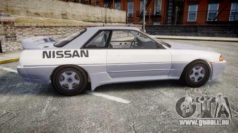 Nissan Skyline GTR R32 für GTA 4 linke Ansicht