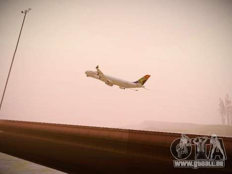 Airbus A340-300 South African Airways pour GTA San Andreas vue intérieure