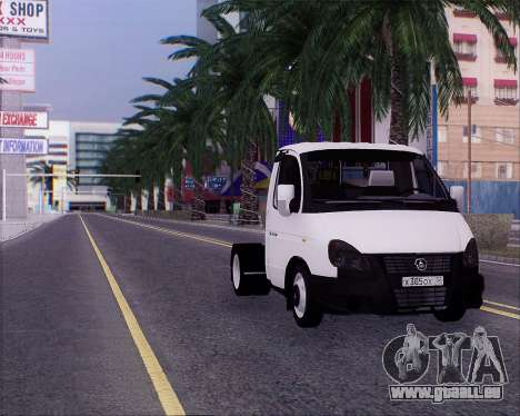 GAZel 3302 für GTA San Andreas rechten Ansicht
