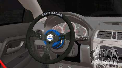 Subaru Impreza pour GTA San Andreas sur la vue arrière gauche