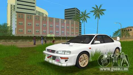 Subaru Impreza WRX STI GC8 Sedan Type 3 pour GTA Vice City