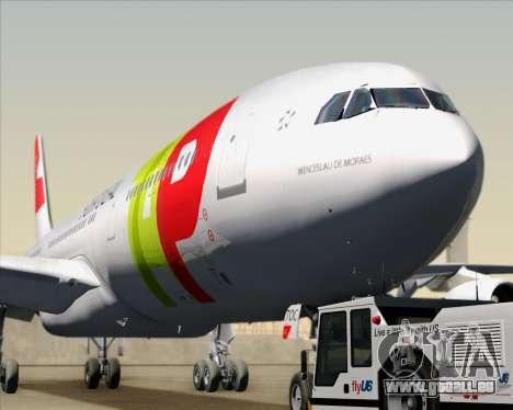 Airbus A340-312 TAP Portugal für GTA San Andreas Innenansicht