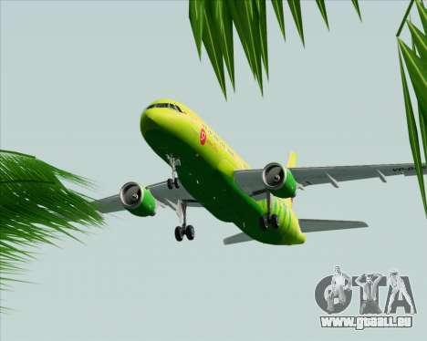 Airbus A320-214 S7-Siberia Airlines für GTA San Andreas Seitenansicht