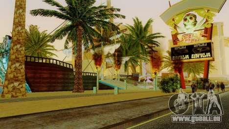 Nouveau navire de pirates dans Las Venturas pour GTA San Andreas cinquième écran