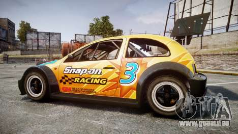 Zenden Cup Snap-On für GTA 4 linke Ansicht