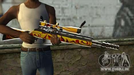 Nitro Sniper Rifle für GTA San Andreas dritten Screenshot